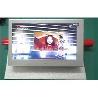 10.1 Inch Battery Powered Shopping Carts LCD Advertising Monitor