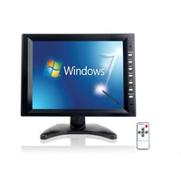 "10.4"" TFT LCD  TOUCH SCREEN MONITOR display with VGA/AV/BNC/Audio Input"