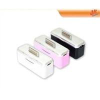 1500 mAh Portable power source emergency cell phone battery charger for iPhone 3G  4  iPad