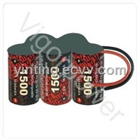 1500mAh,6V EP Ni-MH battery