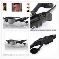 2012 NEW cheap Bluetooth glasses, Bluetooth V.3.0 +EDR