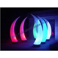 2012 decoration inflatable tusk/inflatable cone with led light (Cone-113)
