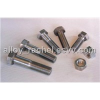 304L Hex head cap screw half thread bolt