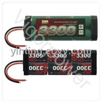 3300mAh,7.2V EP Ni-MH battery