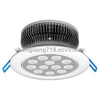 "4"" Fin-shaped LED Down lamp 12*1W dimmable"
