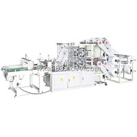 4 Layers 8 Lines Bag Making Machine / Cutting Machine
