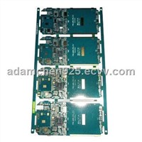 4-layered Phone Mother Board with Immersion Gold and 10z Copper Thickness