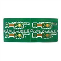 4-layered Rigid-flex Board with ENIG Surface Treatment and 1.0mm Board Thickness