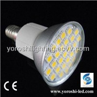 5W 5050 SMD LED Spotlight MR16/E14/E27/GU10 160 degree