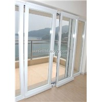 65 series aluminium sliding and tilting door with German hardware