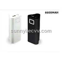 6600MAH Mobile Charger/Power Bank/Mobile Battery/Portable Charger