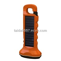 6pcs LED solar torch flashlight with Ni-MH batteries