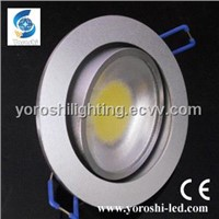 7W COB 140 degree CE LED Downlight