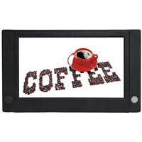 7 inch Retail Shelf LCD Advertising Display with Battery