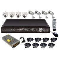 8CH DVR Kit / 8CH H.264 Compression Security Camera System