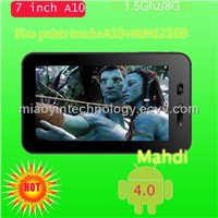 8GB    Android 4.0 tablet PC