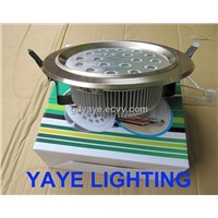 YAYE Best Sell  8'' 18W LED Downlight / LED Ceiling Light/LED Down Lamp