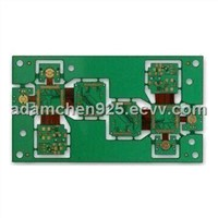 8 Layer Rigid-flex PCB with Immersion Gold Surface Treatment and 3-mil Line Width for Telecom