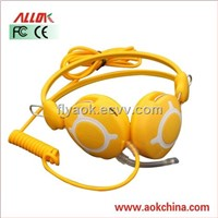 AOK-F01 Fashional Design Colorful Cheap Computer Headphone