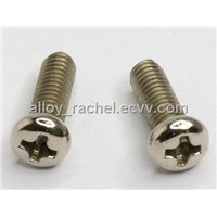 Alloy 625 round head slotted bolt nut washer China factory