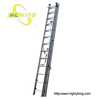 Aluminium folding Extension ladder(HE-313)