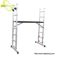 Aluminium folding Scaffold ladder(SC-107)