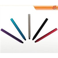 Aluminium orange, black Colorful retro capacitive screen stylus pen for cell phone, iPad