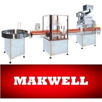 Automatic Cosmetic Filling Capping Machine