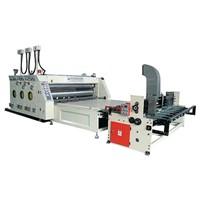 Automatic feeder printing and slotting machine