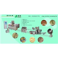 Bugles production machine/extrusion machine