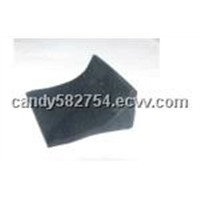 Bumper vibration isolation tubber pad