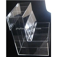 Clear Acrylic Food Dispenser With Divider