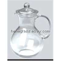 Clear Glass Dinner Set / Tea Pot