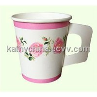 Coffee Paper Cup With Handle