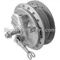 Comp. front wheel hub for motorcycle CG125