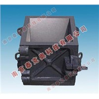Concrete cast iron cube test mould
