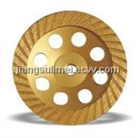 Continuous Turbo Cup Grinding& Diamond Grinding Wheel ,Diamond Saw Blade,jiangsu limei diamond tools