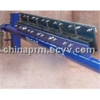 Conveyor belt cleaner rubber cushion