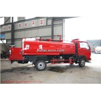 Dfac Watering Cart with Fire Water Pump 4000L