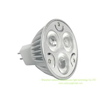 Dimmable LED Spot Light, MR16 GU10 MR11 3W, CE and RoHS Certifications