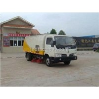 Dongfeng 2tons Road Sweeping Truck / Cleaning Machine