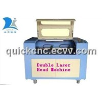Double Laser Head Machine / Laser Cutter