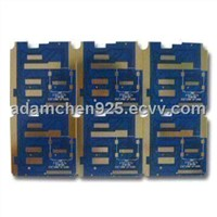 Double-sided Circuit Board with ENIG Surface Treatment, 1.0mm Board Thickness
