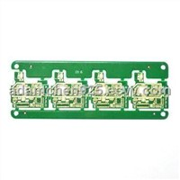 Double-sided PCB for Net Phones with Immersion Gold Surface Treatment and 1.2mm Board Thickness