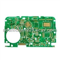 Double-sided Printed Circuit Board, Immersion Gold, Applied on Electronic Dictionary