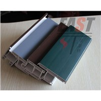 EAST upvc profile, pvc profile, window profile,door profile, co-extrusion profile with color