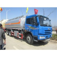 FAW 6x4 Fuel Transport Tank Truck 23000L