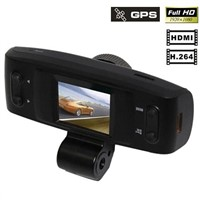 FULL HD 1080P GS1000 with GPS No miss Recording car black box