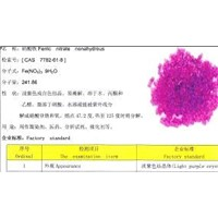 Ferric Nitrate Nonahydrous