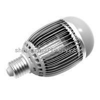 Fin-shaped G70 12W bulb light dimmable